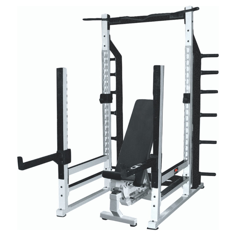 York Barbell STS Multi-Function Power Rack White 54000
