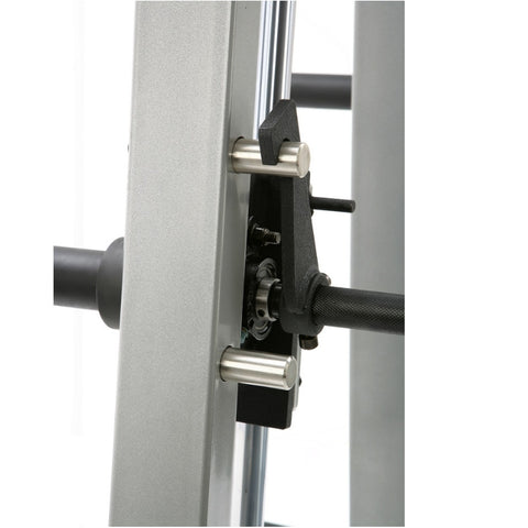 York STS Counter Balanced Smith Machine Safety Front View