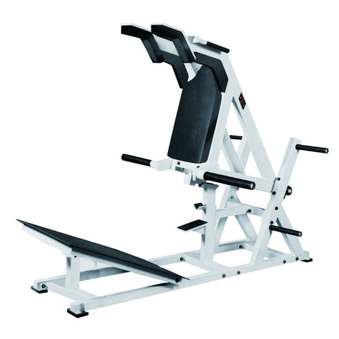 York Barbell STS Power Front Squat White 54036