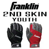FRANKLIN 2ND SKIN YOUTH Batting Gloves