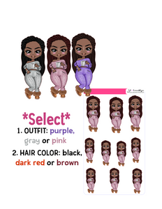 Break Time: Locs Hairstyle Doll
