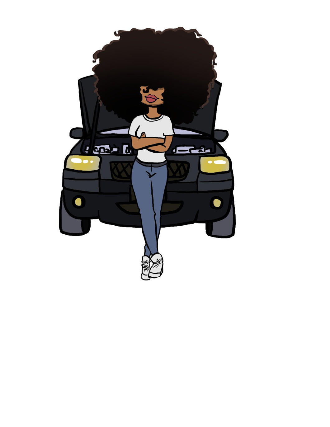Digital Item: Big Hair car maintenance