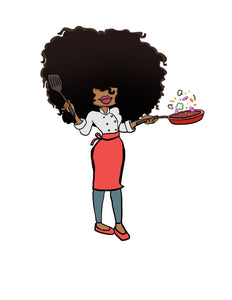 Digital Item: Big Hair chef