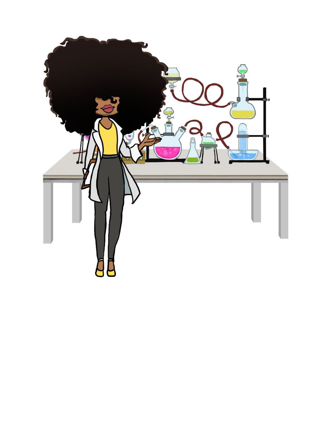 Digital Item: Big Hair chemist/biology