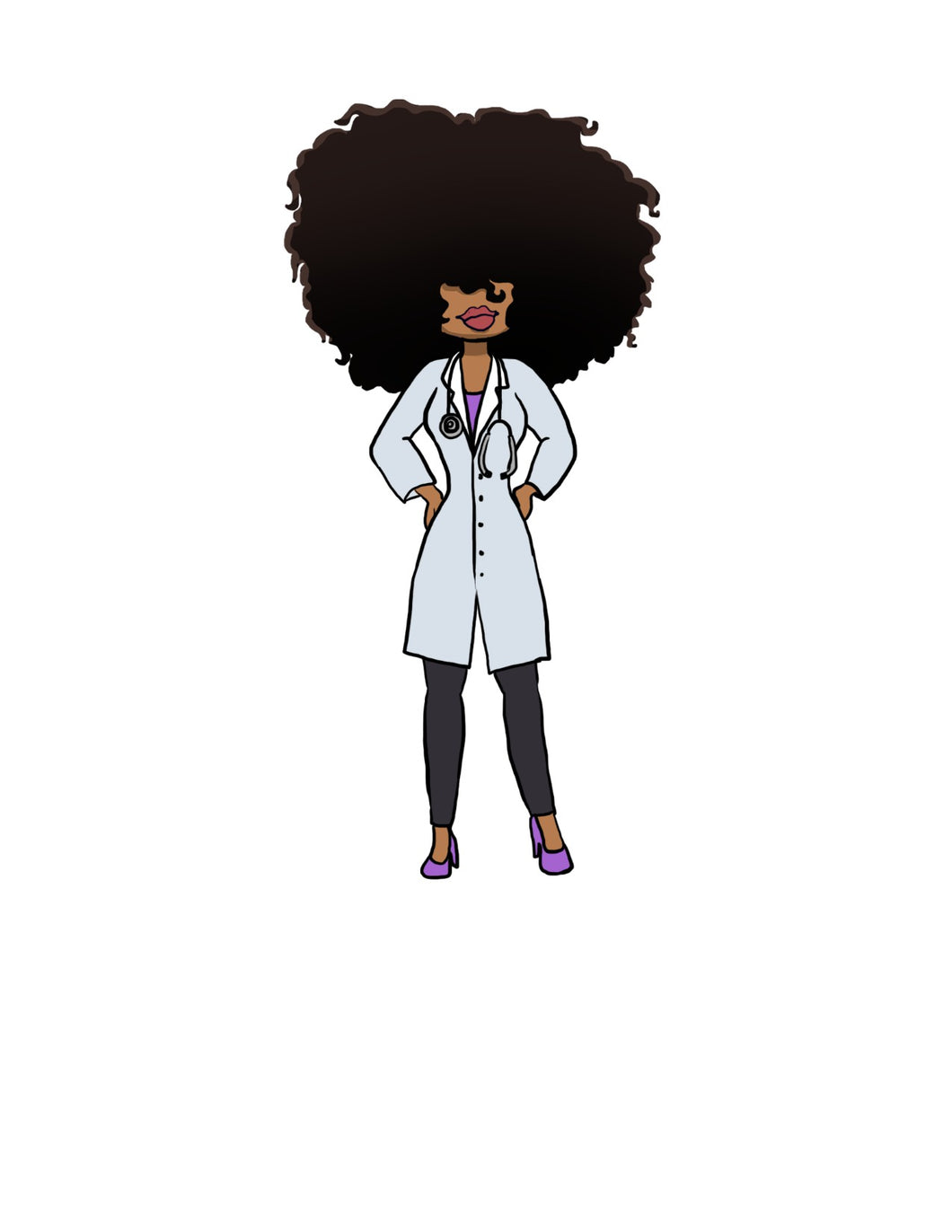Digital Item: Big Hair doctor/nurse