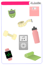 The Fitness Sticker Kit