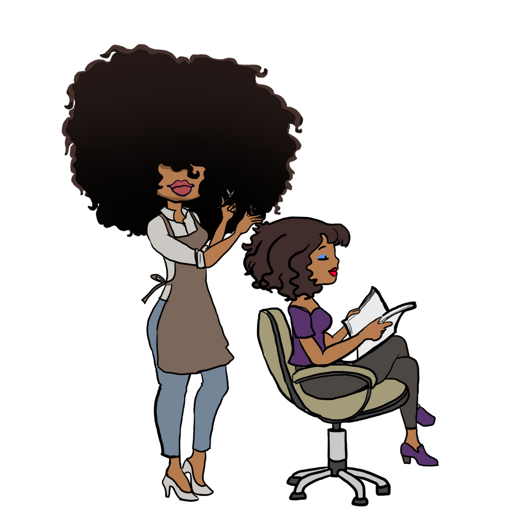 DIGITAL ITEM:  Big Hair -  Hair Stylist Hair Appointment