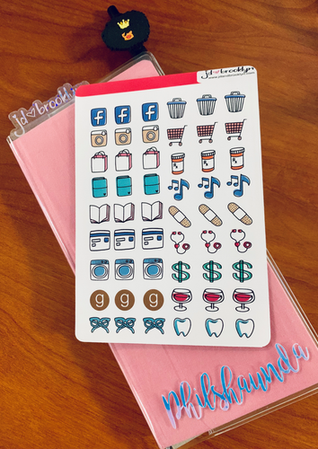 Hobonichi Weeks Icon Stickers
