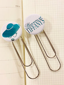 Planners at Tiffany's Bookmark Paperclip Set