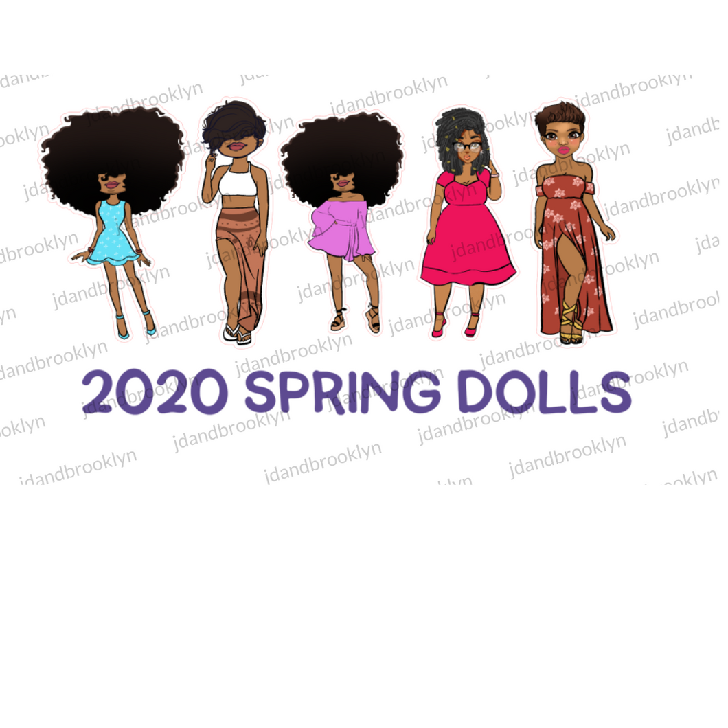 2020 Spring Doll Collection