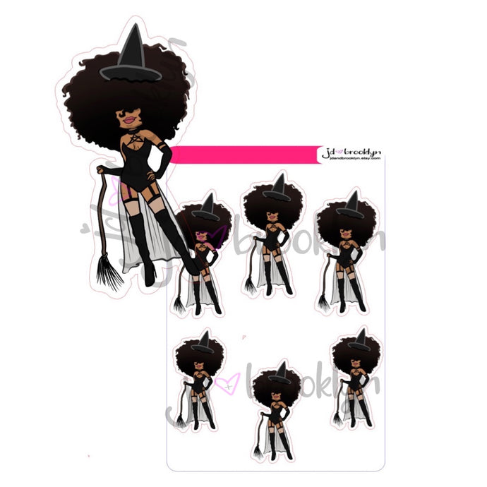 Big Hair Doll Halloween Witch