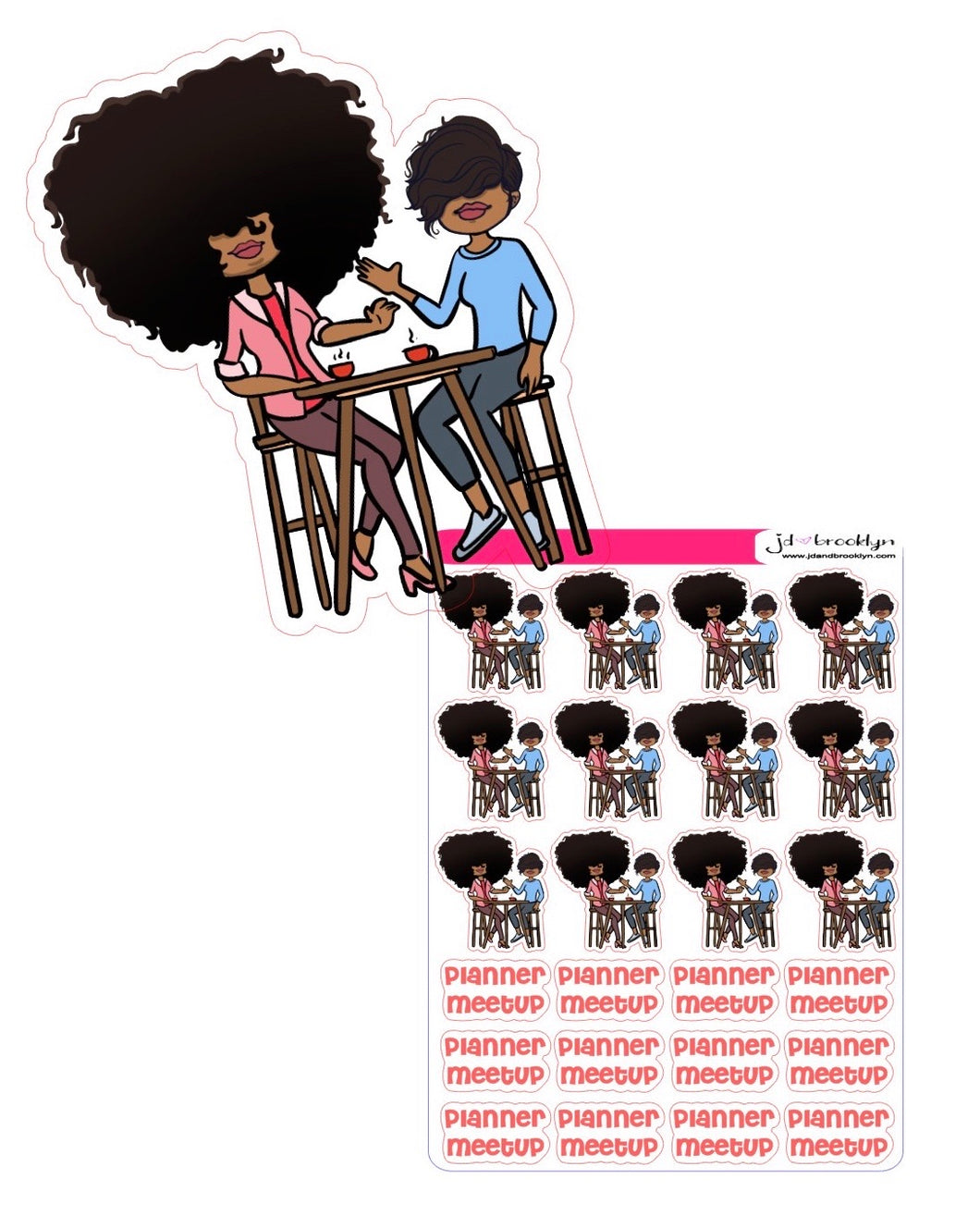 Big Hair Doll & Bella Planner Meetup