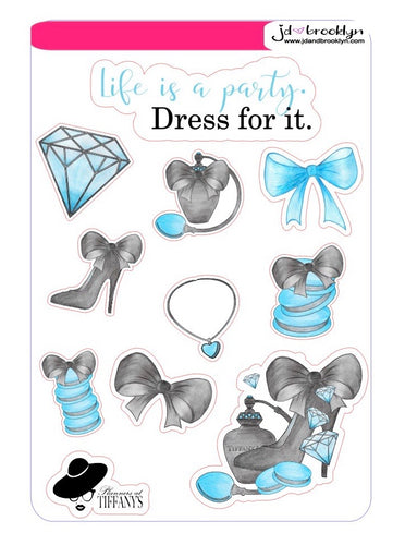 Planners at Tiffany's Sticker Sheet
