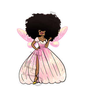 DIGITAL ITEM Big Hair Fairy