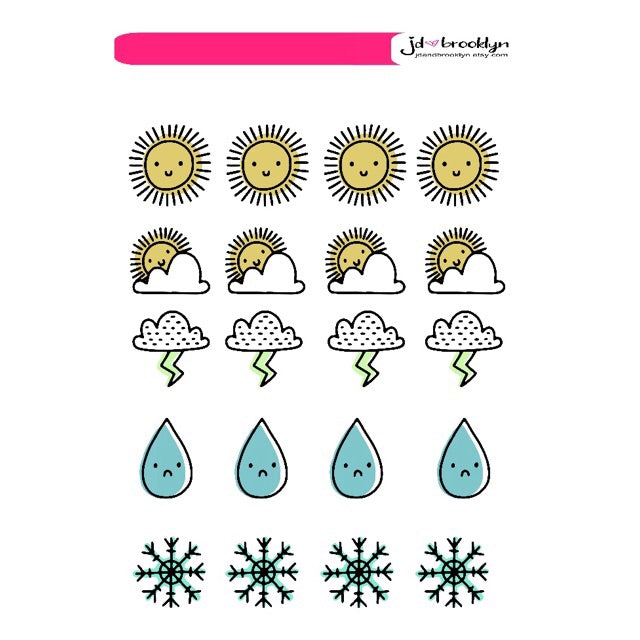 Icons: Weather