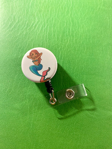 Ariel Black Girl Magic Badge Reel