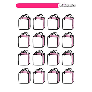Icons: Shopping bags