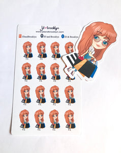 Retail Doll Sticker Sheet