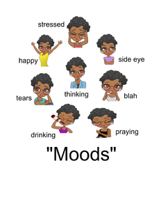 Moods-Doll with different moods