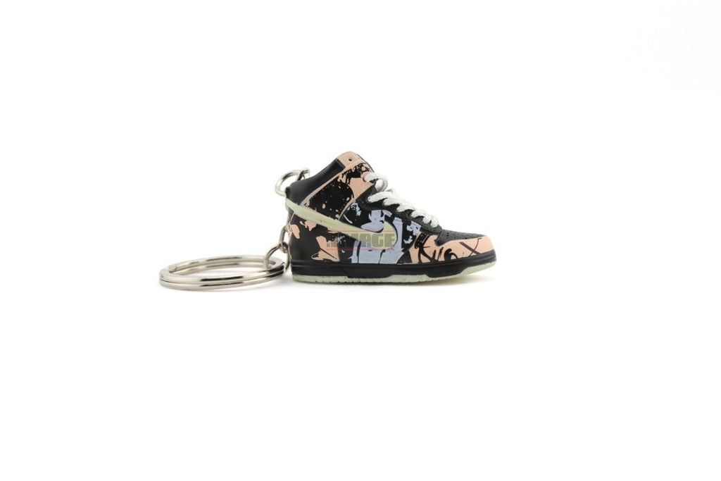 jordan 1 new school keychain