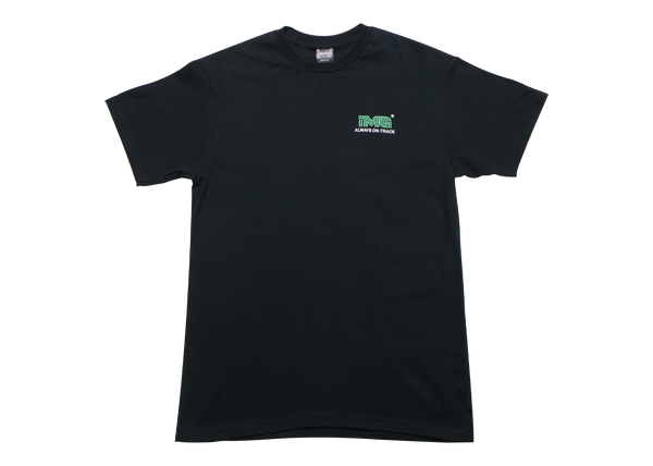 .IMAGE ON TRACK T-SHIRT - BLACK