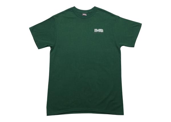 .IMAGE ON TRACK T-SHIRT - GREEN
