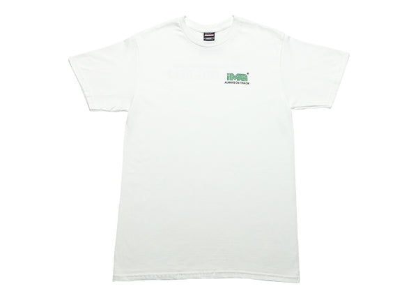 .IMAGE ON TRACK T-SHIRT - WHITE