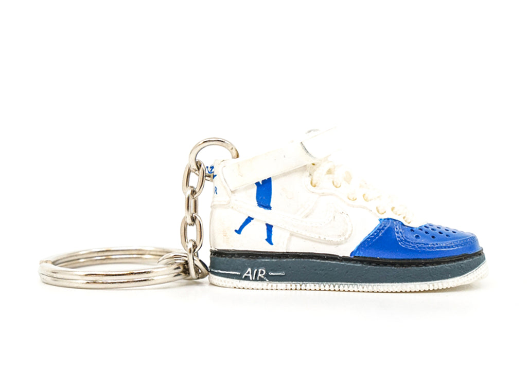 air force 1 wallace blue keychain