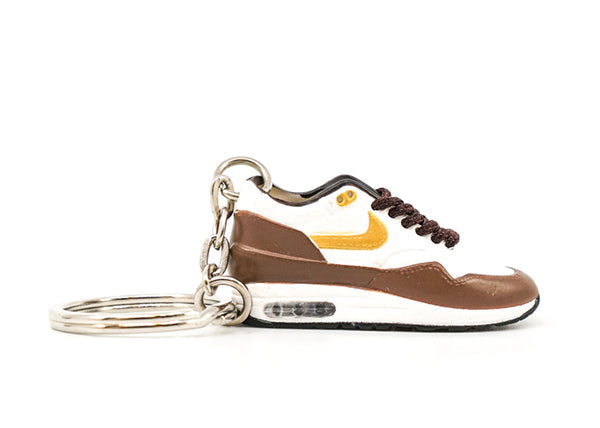air max 1 brown keychain