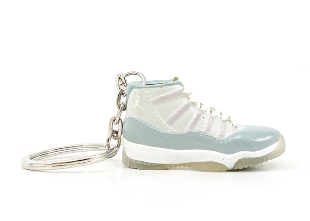jordan 11 cool grey keychain