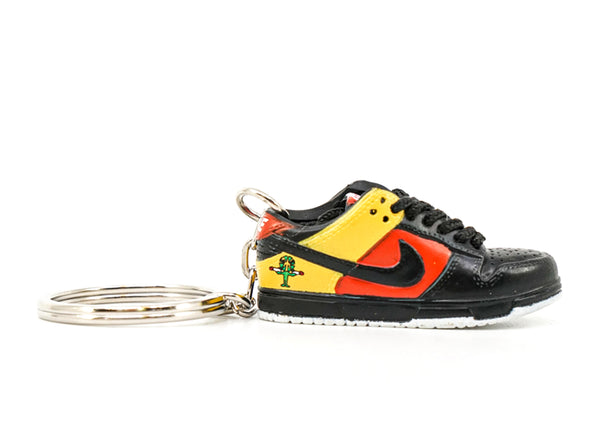 raygun dunk low black keychain