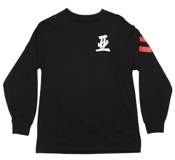 .image 88 long sleeve shirt black