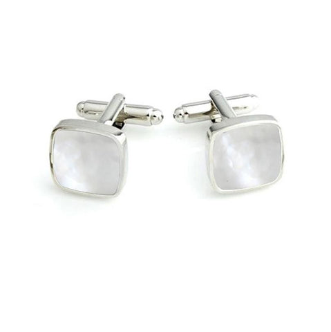 Mother of Pearls Studded - Cufflinks Set