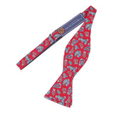 Peluche Twisted Bead - Red Bow Tie Cotton