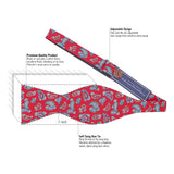 Twisted Bead - Red Bow Tie