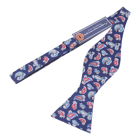 Peluche Twisted Bead - Blue Bow Tie Cotton