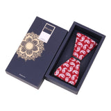 The Royal Paisley - Red Bow Tie