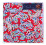 Of Floral Charm and Mystique - Pocket Square