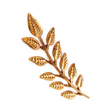 Peluche The Leafy affair - Glossy - Lapel Pin Brass, Metal