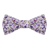 Peluche The Floral Affair - Purple Bow Tie Cotton