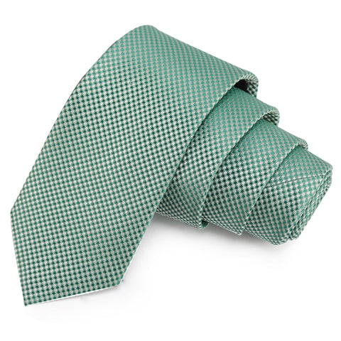 Trendy Green Colored Microfiber Necktie for Men | Genuine Branded Product from Peluche.in