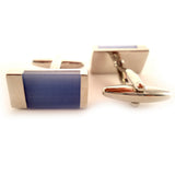 Eleganza - Blue Cufflinks