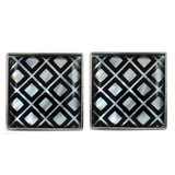 Shades of Grey Kross Mother of Pearl Cufflinks