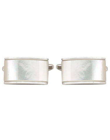 Naturalist - Mother of Pearl Cufflinks