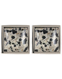 Mineralist - Grey and Black Cufflinks