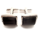 Studded in Black Cufflinks