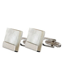 Cuadrado - Mother of Pearl Cufflinks