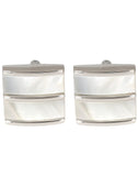 Slinky - Mother of Pearl Cufflinks