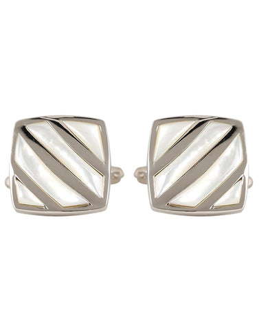 No -Nonsense - Mother of Pearl Cufflinks