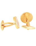 Royalty - Golden Cufflinks